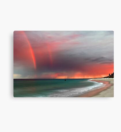 Cottesloe Beach Sunrise Canvas Print