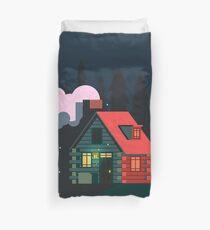 Log Cabin Home Duvet Cover