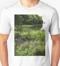 Swamp end of the lake Unisex T-Shirt