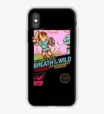 Zelda: Breath of the Wild — 80s Style NES Black Box iPhone Case