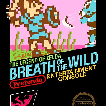 Zelda: Breath of the Wild — 80s Style NES Black Box by mrbrownjeremy
