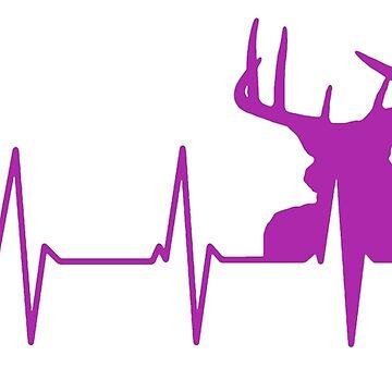 Buck Heartbeat - Púrpura de Zboydston17