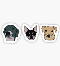 Jennas Hunde (Sticker Pack) Sticker