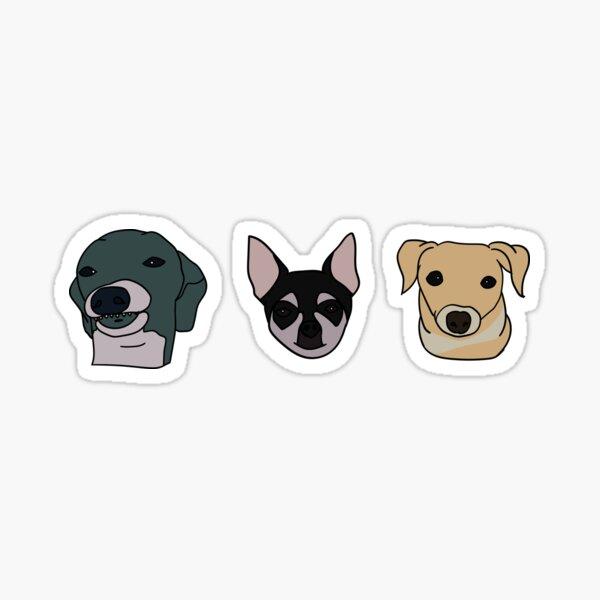 Jenna's Dogs (Sticker Pack) Sticker