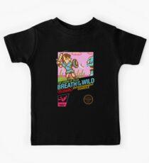 Zelda: Breath of the Wild — 80s Style NES Black Box Kids Clothes