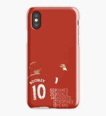 wayne rooney - manchester united iPhone Case/Skin