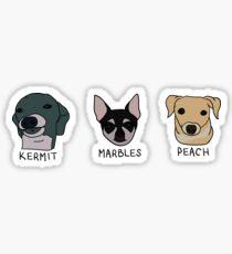 Jennas Hunde + Namen (Sticker Pack) Sticker
