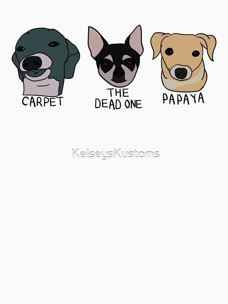 Teppich, Papaya und der Tote von KelseysKustoms