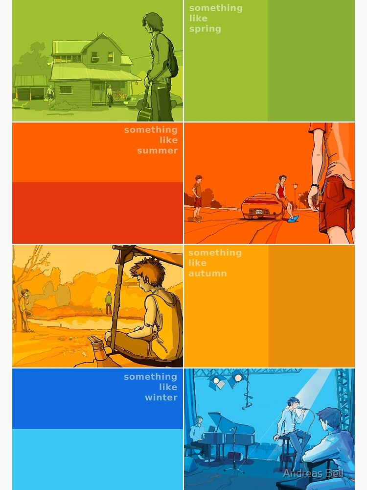 Something Like... series Seasons poster by AndreasBell