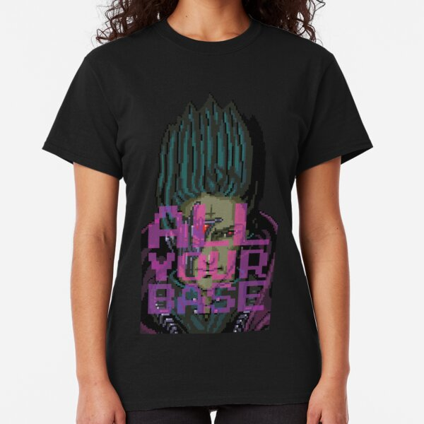 All Your Base Are Belong to Us - Zero Wing Classic T-Shirt