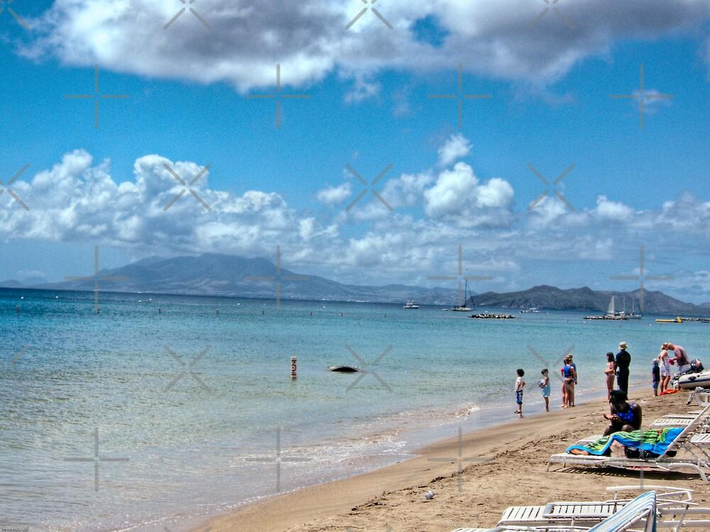 Pinney's Beach by photorolandi