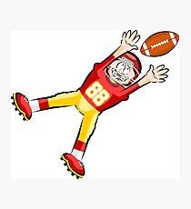 American Football Cartoon Style 27/41 Photographic Print