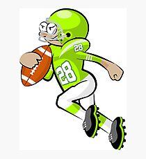 American Football Cartoon Style 26/41 Photographic Print
