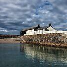 Cobb Buildings - Lyme Regis by Susie Peek