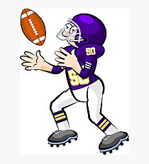 American Football Cartoon Style 29/41 Photographic Print