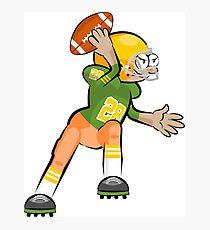 American Football Cartoon Style 30/41 Photographic Print