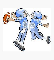 American Football Cartoon Style 32/41 Photographic Print