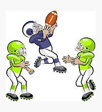 American Football Cartoon Style 33/41 Photographic Print