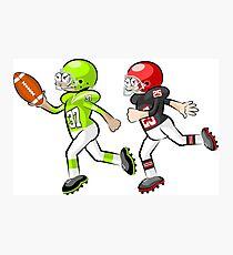 American Football Cartoon Style 34/41 Photographic Print