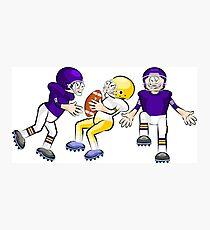 American Football Cartoon Style 36/41 Photographic Print