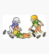 American Football Cartoon Style 37/41 Photographic Print