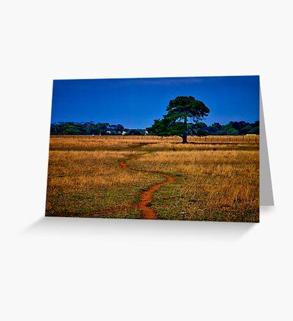 """The Sheep Track"" Greeting Card"