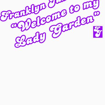 Franklyn James says lady garden (purple) by sophwah