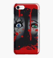 chucky and tiffany iPhone Case/Skin