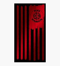 Dead kennedys flag Photographic Print