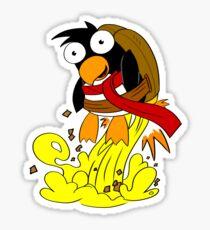 Rocket Penguin! Sticker