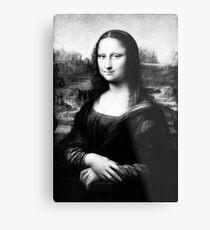 Smirk Woman Metal Print