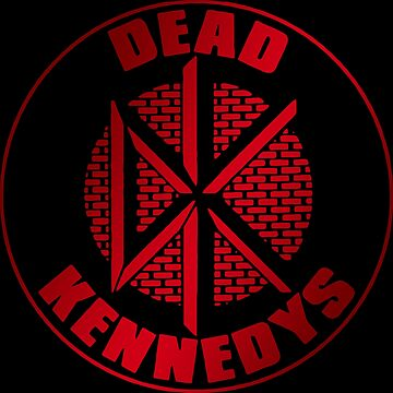 Dead kennedys red wall t-shirt by zumseh