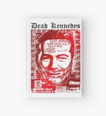 Dead kennedys face Hardcover Journal