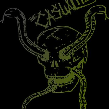 The casualties punk snakes by zumseh