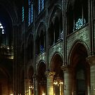 Part of Nave Notre Dame Paris 19840818 0030  NOT FOR SALE by Fred Mitchell
