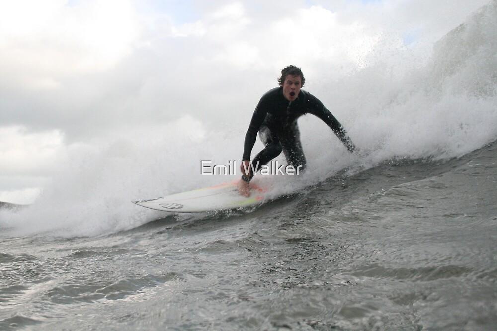 surfing by Emil Walker