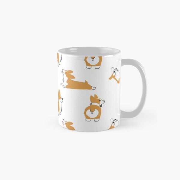 Corgi Pattern Classic Mug