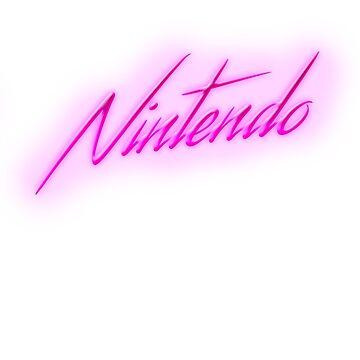 80s Nintendo Logo (Alternate Style) by phoenix529