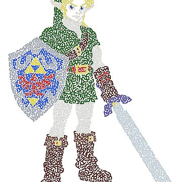 Link in The Legend of Zelda Ocarina of Time by Karotene