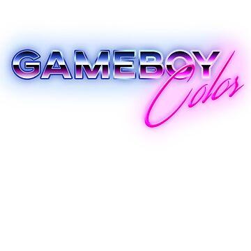 80s Game Boy Color Logo by phoenix529