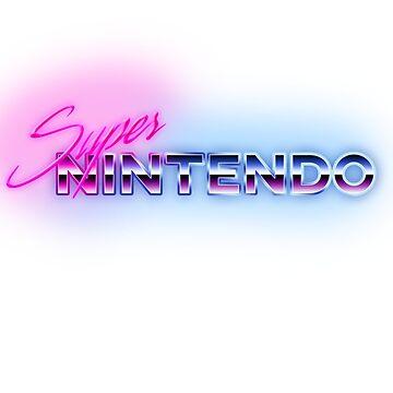 80s Super Nintendo Logo by phoenix529