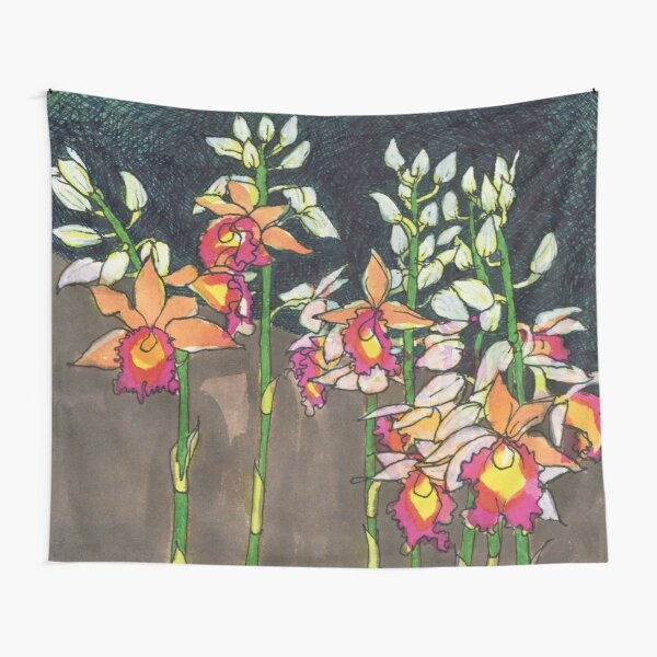 Nun's Orchid Tapestry