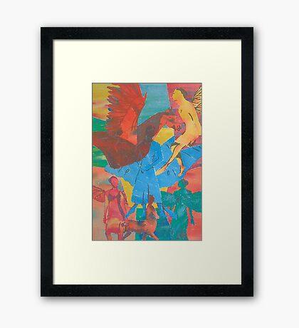 Fantasy Folk Framed Print