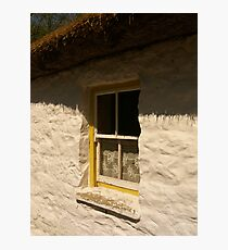 the cottage window ... Photographic Print