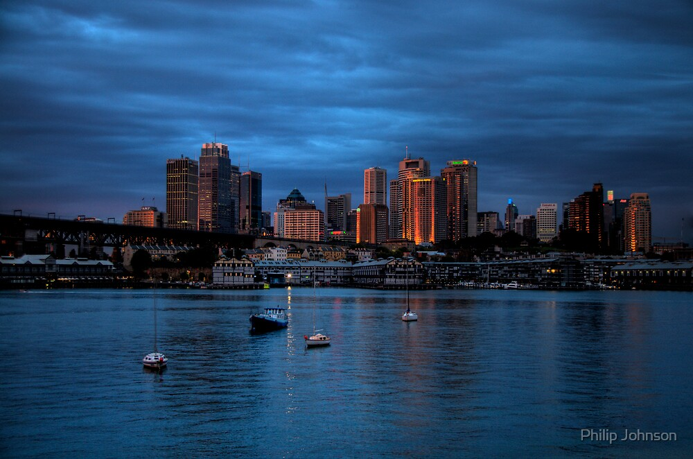 Awakening - Moods Of A City - THe HDR Series by Philip Johnson