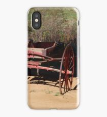 Red Wagon iPhone Case/Skin