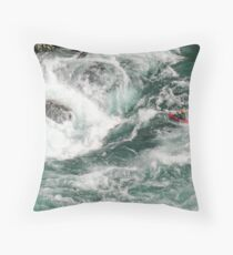 clench Throw Pillow