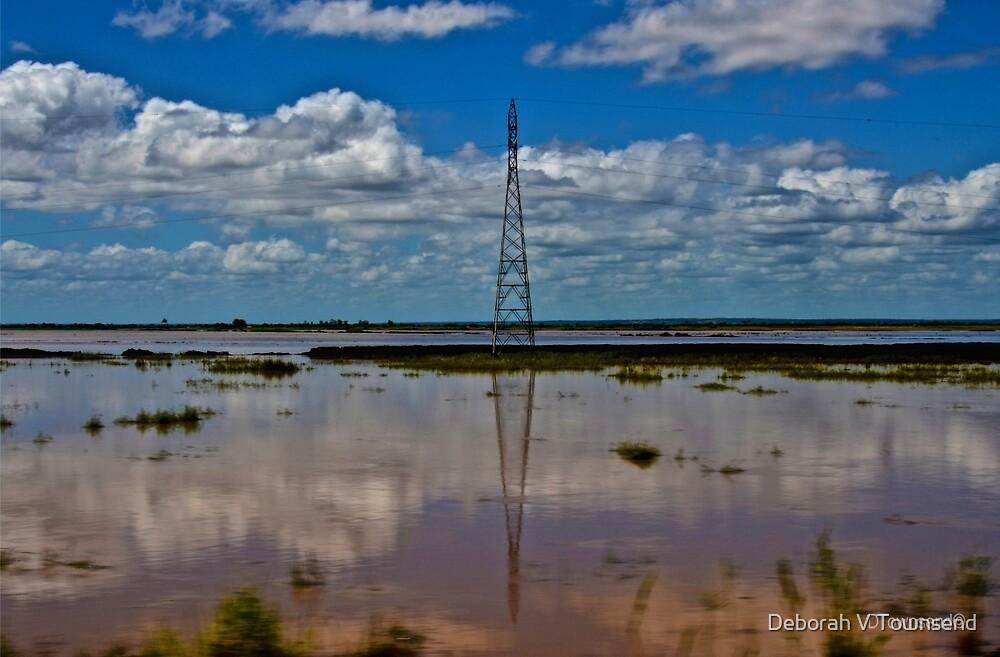 Electricity Pylon  by Deborah V Townsend