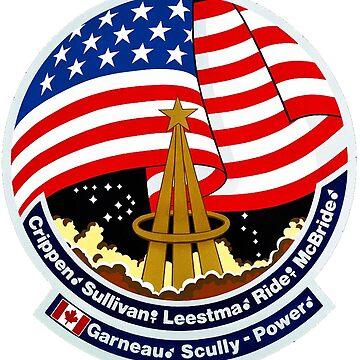 Nasa STS-41G Mission Patch by MyAbilityCPO