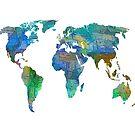OLena Art Blaue Welt Transparente Karte von OLena  Art ❣️